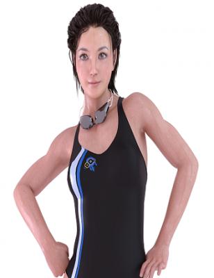 水泳で筋肉を鍛える方法 執筆者の細マッチョ編集部員 夏目コーチの画像