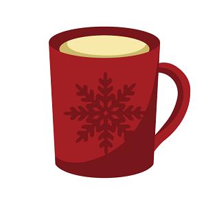 プロテインを混ぜたコーヒーの画像