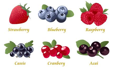 お洒落でビタミン・美容成分がたっぷりのフルーツの画像